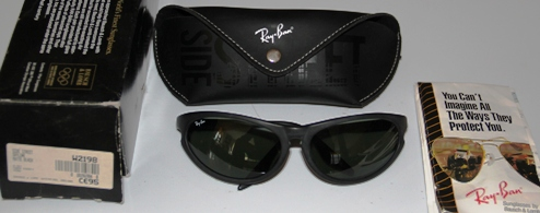 ad029592422 ... Ray Ban W2198 Side Street Skyline Matte Black with G15 lens New Listing.  111